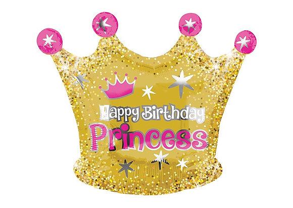 Happy Birthday princess - 50cm