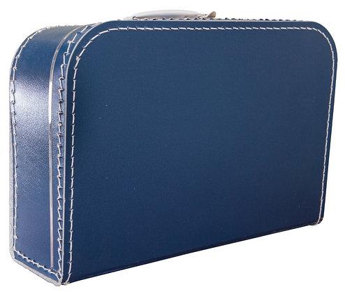 Koffertje met naam 35 cm - DONKERBLAUW