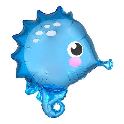 Anagram - folieballon - baby zeepaardje - 53 cm