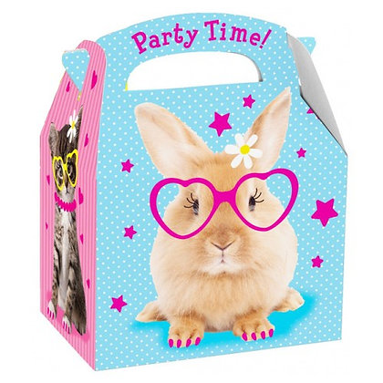 Party box funny animals