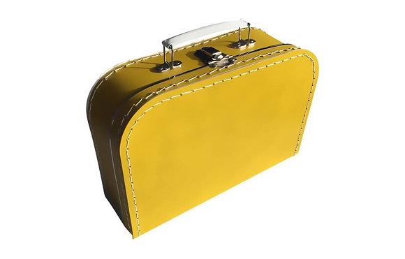 Koffertje 35cm - geel (incl. bedrukking)