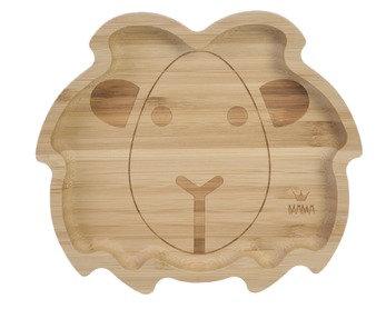 BamBam - Bamboo Leeuwen bord - 23 cm - Organic - Because we care
