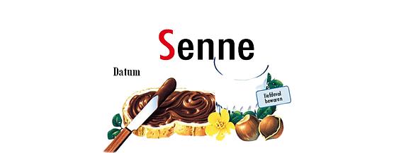 Gepersonaliseerd label voor Nutella potjes 25 gram