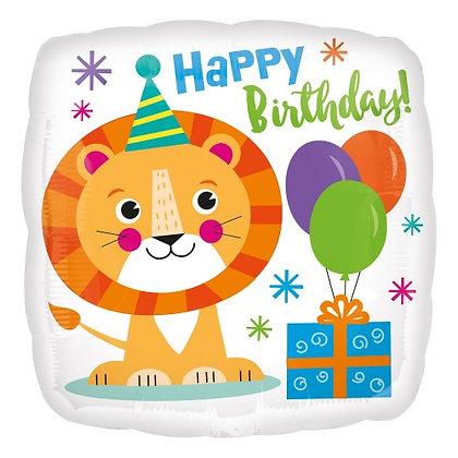Happy birthday lion - 45cm