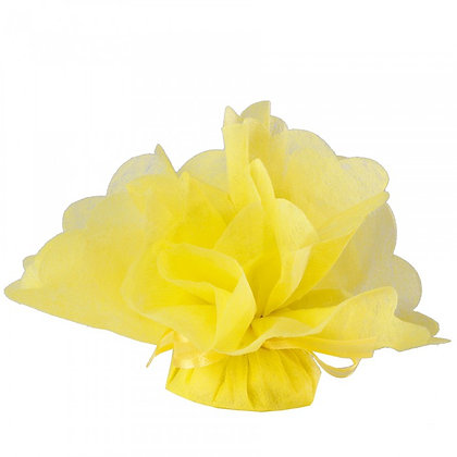 Tulle geel (per 25 stuks)