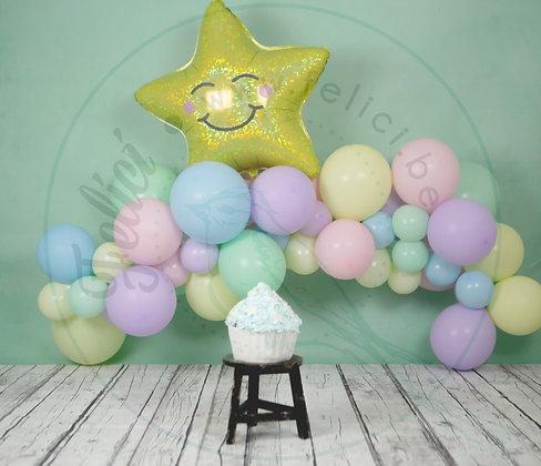 Organic balloons - Pastel matte