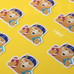 Cal Bear Stickers