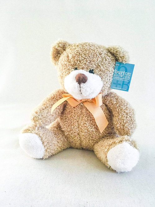 Light brown bear plush