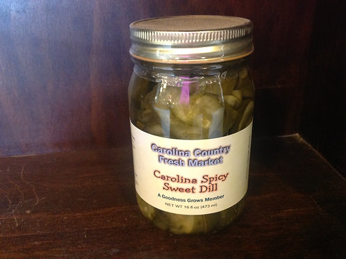 Carolina Spicy Sweet Dill Pickles