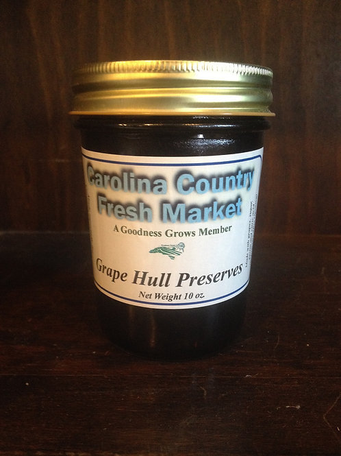Grape Hull Preserves