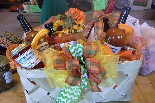 Custom made to order gift baskets