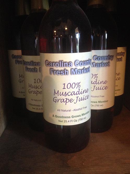 100% Muscadine Grape Juice