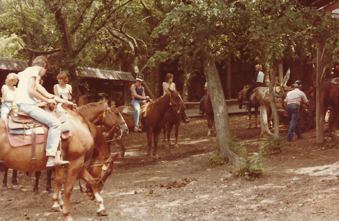 Trail Riding 1980s