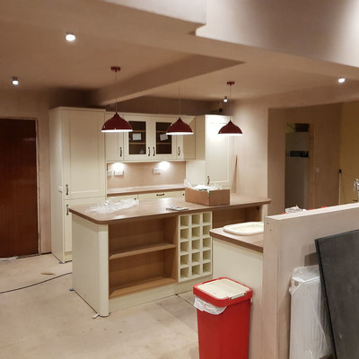 New Kitchen Installations Lighting and Power
