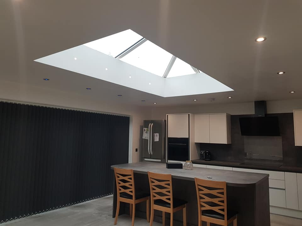 New Kitchen Extension Lighting and Power