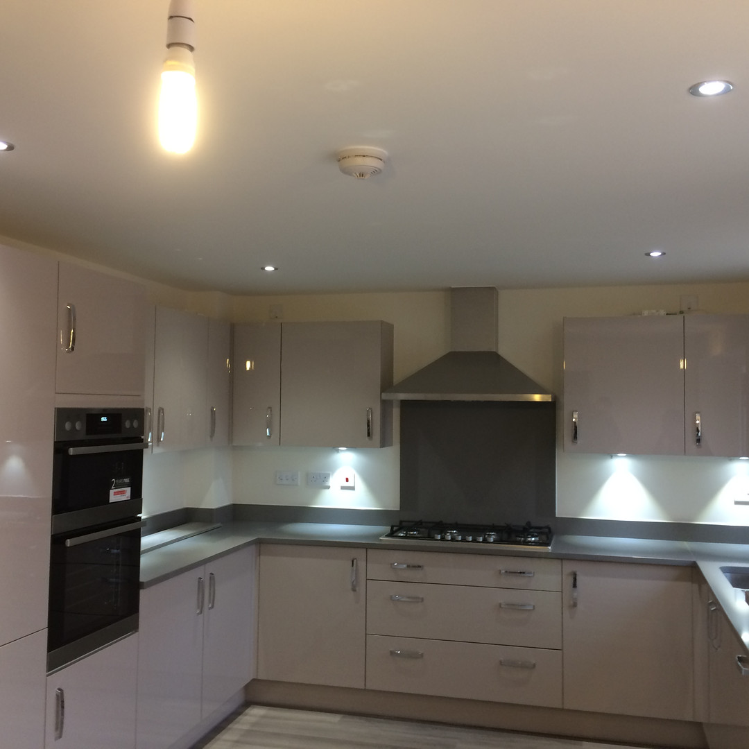 Kitchen Extension Lighting and Power