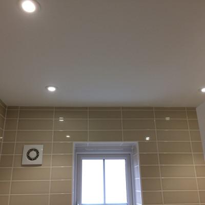 Circular Spotlight Installation