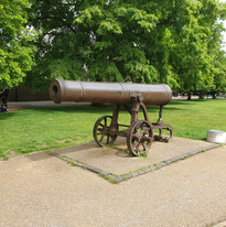 Ely Cathedral Cannon