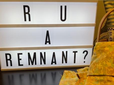 R U a Remnant?