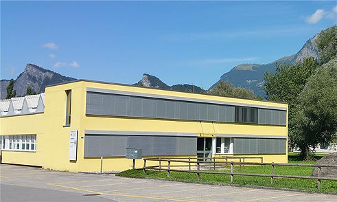 Haus in Maienfeld. Praxis