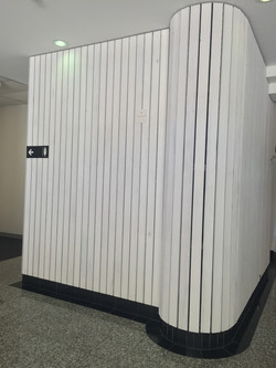 Wall cladding detail