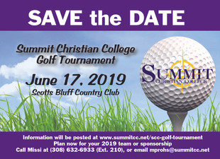 Annual Golf Tournament is June 17