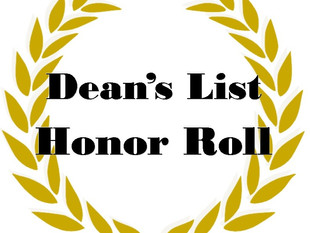 Spring 2020 Dean's List and Honor Roll