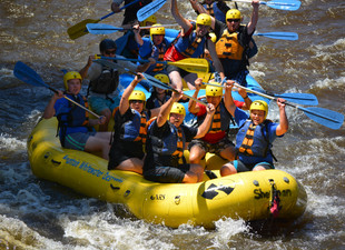 Ascend the Summit and Whitewater Rafting!