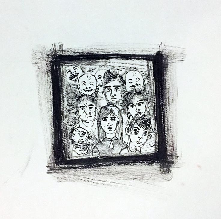 Family portrait, 2013