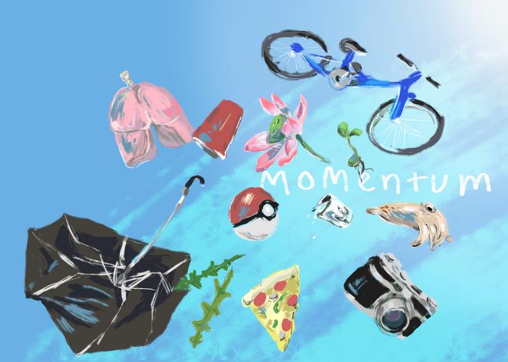 Momentum cover, 2018
