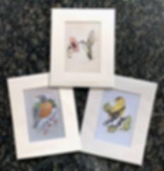 3 bird prints – Mother's Day