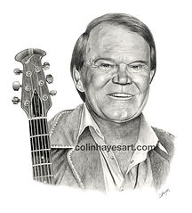 Glen Campbell portrait