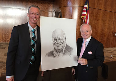 artist Colin Hayes, Don Rickles drawing, manager Tony Oppedisano