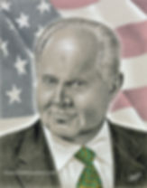 Rush Limbaugh portrait