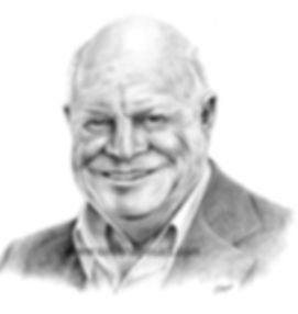 Pencil portrait of Don Rickles
