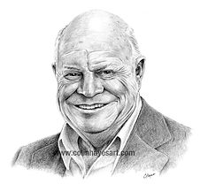 Don Rickles portrait