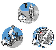 cycling fitness illustration