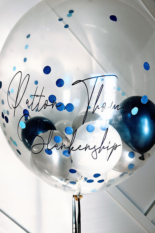 Personalized 2ft balloon