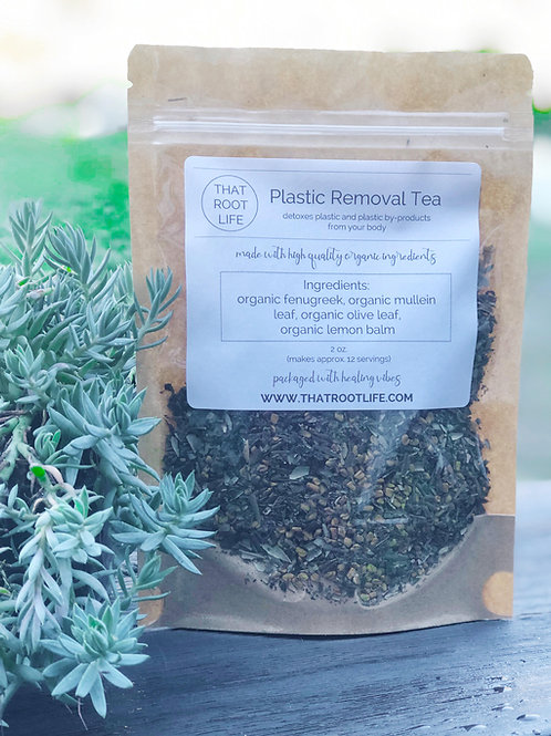 Plastic Removal Tea