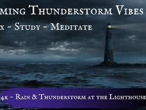 Calming Thunderstorm & Rain Vibes
