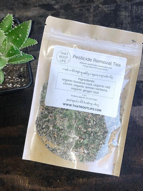 Pesticide Removal Tea
