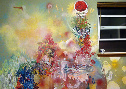 Mural at Jon's