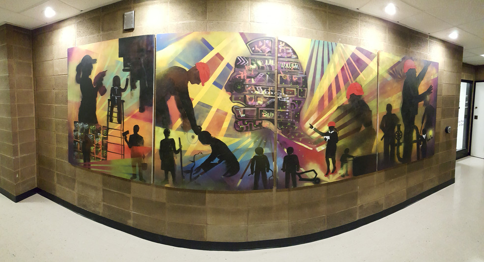 Facilities Mural