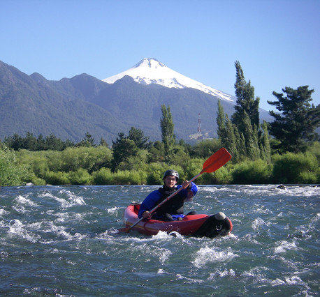 Pucon rafting
