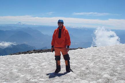 Patagonia volcano summit