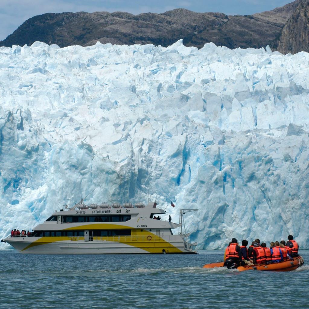 San Rafael glacier Patagonia