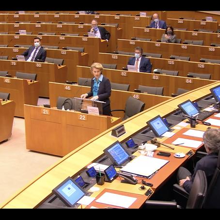Președinta Comisiei Europene și primele idei despre redresarea economică a UE în urma pandemiei