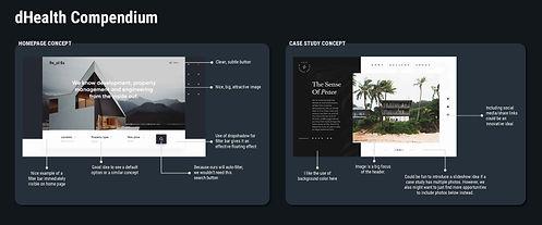 dHealth Compendium Website Style Board_r