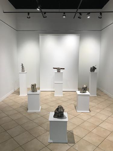 Petrified Materiality Exhibition_Kate Wa