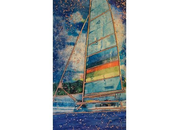 Hazy Sailing # 11